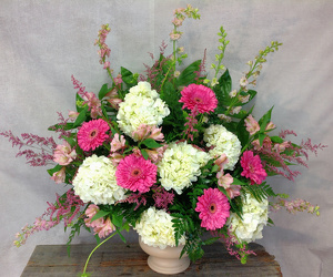 Lovely Pinks and Whites from Carl Johnsen Florist in Beaumont, TX