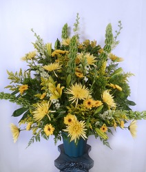 Burst Of Summer Altar Arrangement from Carl Johnsen Florist in Beaumont, TX