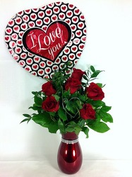 I Love You Red Roses from Carl Johnsen Florist in Beaumont, TX