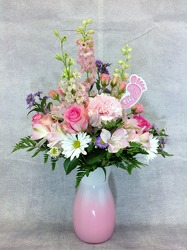 Pretty In Pinks from Carl Johnsen Florist in Beaumont, TX