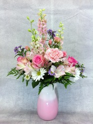 Pink And Cheerful from Carl Johnsen Florist in Beaumont, TX
