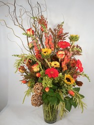Autumn Statement from Carl Johnsen Florist in Beaumont, TX