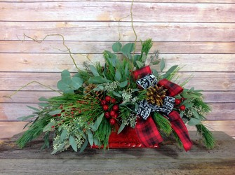 Country Woods Christmas  from Carl Johnsen Florist in Beaumont, TX
