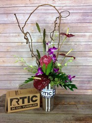 RTIC Exotic Surprise  from Carl Johnsen Florist in Beaumont, TX