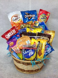 Snack Basket from Carl Johnsen Florist in Beaumont, TX