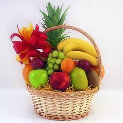 Fruit Basket  from Carl Johnsen Florist in Beaumont, TX