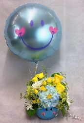 Baby Boy Smiles from Carl Johnsen Florist in Beaumont, TX
