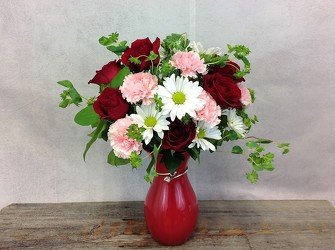 Teleflora's Pair Of Hearts Bouquet from Carl Johnsen Florist in Beaumont, TX