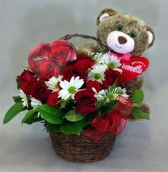 Beary Special Valentine  from Carl Johnsen Florist in Beaumont, TX
