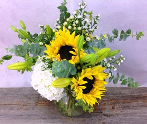 Brighter Days  from Carl Johnsen Florist in Beaumont, TX