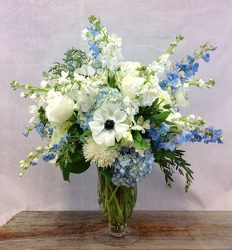 Blue Skies Bouquet from Carl Johnsen Florist in Beaumont, TX