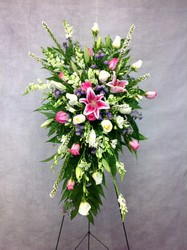 Eternal Peace Standing Spray  from Carl Johnsen Florist in Beaumont, TX