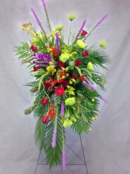 Love Divine Standing Spray from Carl Johnsen Florist in Beaumont, TX