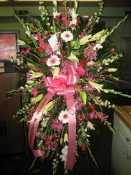 Beautiful Pink Spray from Carl Johnsen Florist in Beaumont, TX