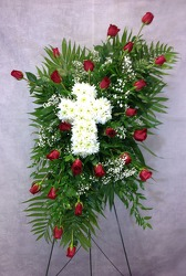 Loving Tribute Spray  from Carl Johnsen Florist in Beaumont, TX