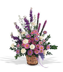 Lavender Reminder Basket from Carl Johnsen Florist in Beaumont, TX