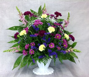 Jewel Tone Basket from Carl Johnsen Florist in Beaumont, TX