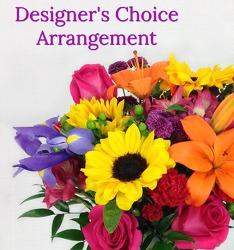 Designer's Choice Arrangement from Carl Johnsen Florist in Beaumont, TX