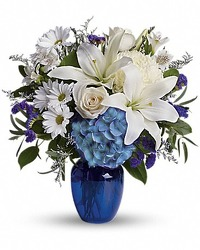 Beautiful in Blue from Carl Johnsen Florist in Beaumont, TX