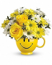 Be Happy Bouquet from Carl Johnsen Florist in Beaumont, TX