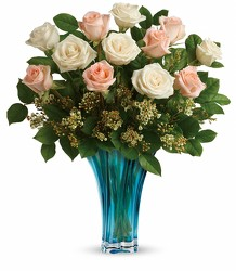 Teleflora's Ocean Of Roses Bouquet from Carl Johnsen Florist in Beaumont, TX