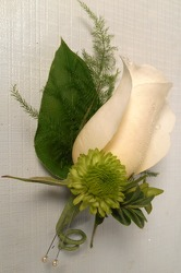 Boutonniere from Carl Johnsen Florist in Beaumont, TX