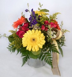 Bright Blooms  from Carl Johnsen Florist in Beaumont, TX