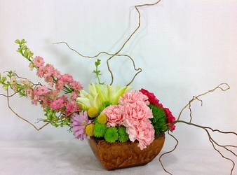 Happy Spring Arrangement  from Carl Johnsen Florist in Beaumont, TX