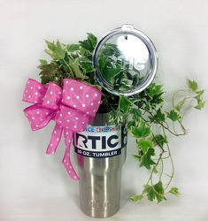 Plant Tumbler from Carl Johnsen Florist in Beaumont, TX