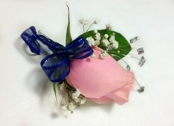 Maxwell Boutonniere  from Carl Johnsen Florist in Beaumont, TX