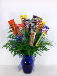Dozen Chocolate Bar Arrangement  from Carl Johnsen Florist in Beaumont, TX