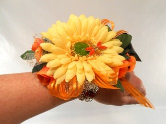 Daphne Wrist Corsage from Carl Johnsen Florist in Beaumont, TX