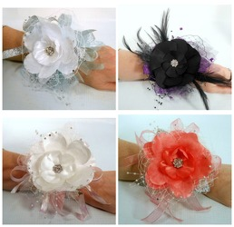 Madison Wrist Corsage from Carl Johnsen Florist in Beaumont, TX