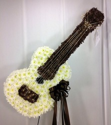 Acoustic Guitar Tribute from Carl Johnsen Florist in Beaumont, TX
