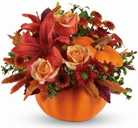 Autumn's Joy by Teleflora from Carl Johnsen Florist in Beaumont, TX