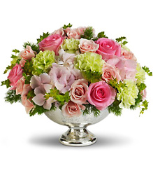 Teleflora's Garden Rhapsody Centerpiece from Carl Johnsen Florist in Beaumont, TX
