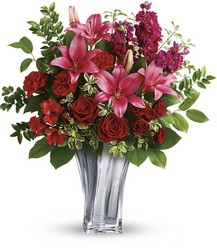 Teleflora's Sterling Love Bouquet from Carl Johnsen Florist in Beaumont, TX