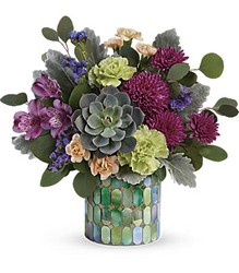 Marvelous Mosaic Bouquet from Carl Johnsen Florist in Beaumont, TX