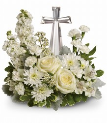 Teleflora's Divine Peace Bouquet from Carl Johnsen Florist in Beaumont, TX