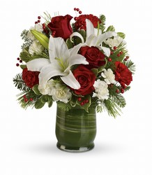 Holiday Hues Bouquet