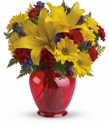 Teleflora's Let's Celebrate Bouquet from Carl Johnsen Florist in Beaumont, TX