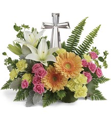 Teleflora's Precious Petals Bouquet from Carl Johnsen Florist in Beaumont, TX