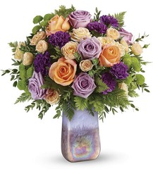 Amethyst Sunrise Bouquet from Carl Johnsen Florist in Beaumont, TX