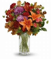 Teleflora's Fall Brights Bouquet from Carl Johnsen Florist in Beaumont, TX