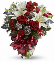 Holiday Enchantment Bouquet from Carl Johnsen Florist in Beaumont, TX