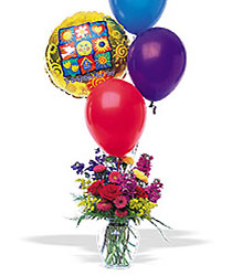 Balloons and a Boost from Carl Johnsen Florist in Beaumont, TX